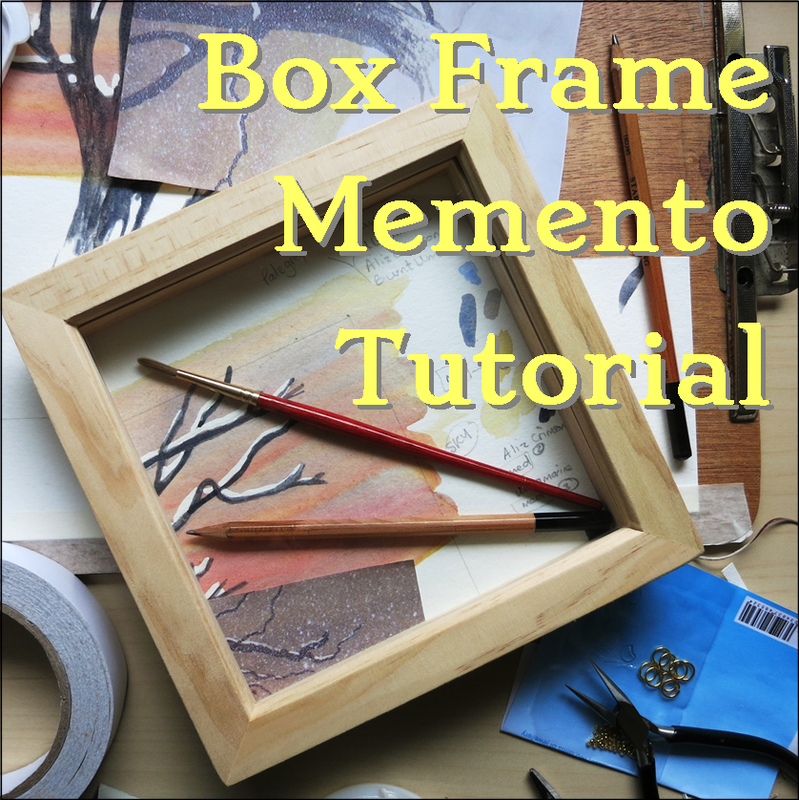 A box or shadow frame is a perfect way to preserve your precious memories. learn some tips in this tutorial.