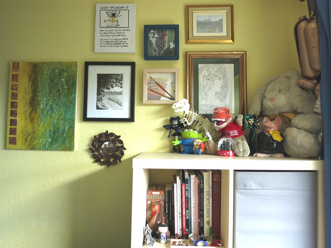 Part of my own creative space, soon to be explored on the blog!